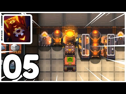 Quest: 4 Steel per Second – Sandship: Crafting Factory – Gameplay Walkthrough Part 05 (iOS, Android)