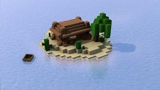 Майнкрафт Выживание с Друзьями и ДИНОЗАВРАМИ на Острове minecraft