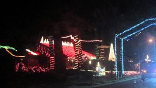 Synchronized Christmas Lights Display - Port Orange, Florida