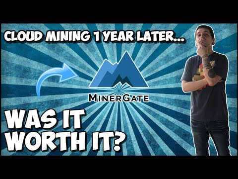 My Minergate *Cloud Mining* Contracts 1 YEAR LATER! (WAS IT WORTH IT?)
