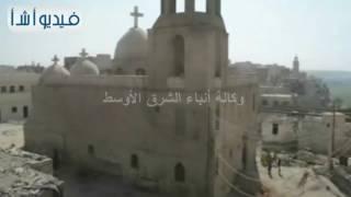 بالفيديو: محافظ المنيا يتفقد دير السيدة العذراء بجبل الطير ضمن جولاته علي المناطق الاثريه