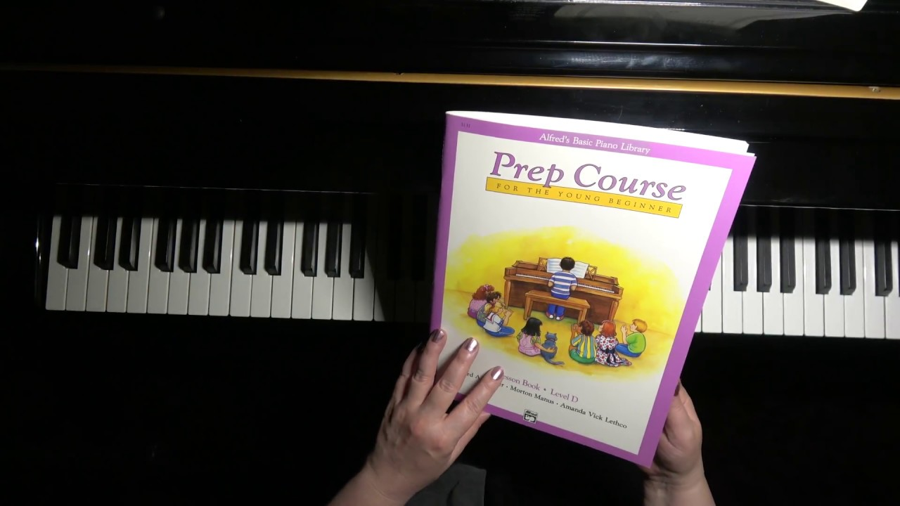 Blue and Low - easy piano tutorial / Alfred Prep Course Lesson Book level D