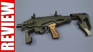 review   roni pistol carbine kit for p226   caa tactical
