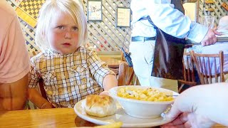 When You Take Your Kids To Cracker Barrel