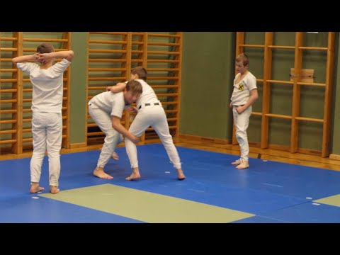 Viel Einsatz beim Training der Jung-Ranggler in St. Johann