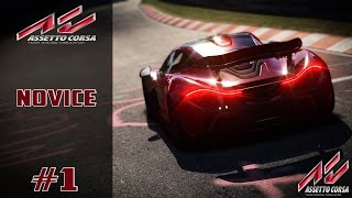 Assetto Corsa Mode Carrière #1 Novice ! Ps4 !