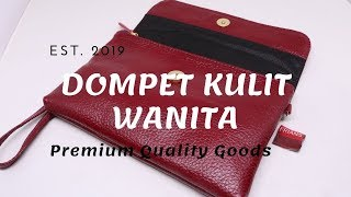 Dompet Kulit Asli Untuk Wanita - Dompet Kulit Original FDRED011