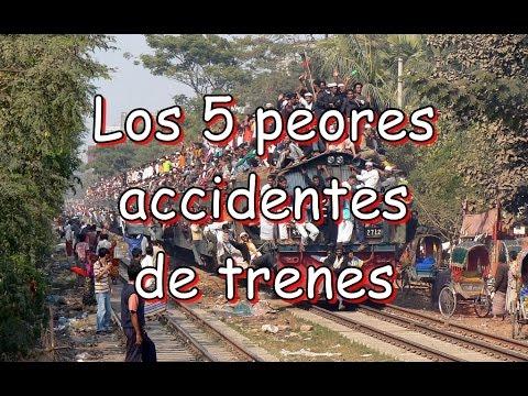 Los 5 peores accidentes de trenes - Daniel de Hálitus