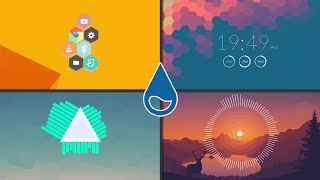 How To Customize Your Desktop With Rainmeter - Add Clocks, System Monitors And More To Your Desktop! screenshot 2