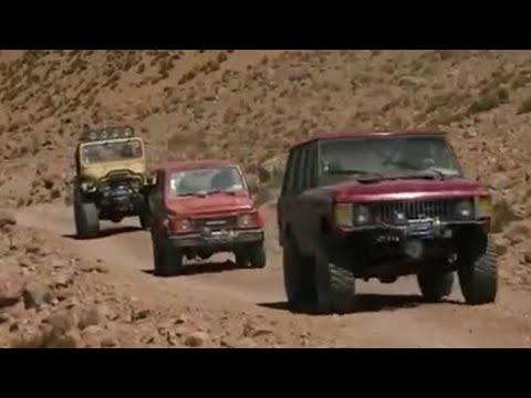 Scaling the Guallatiri volcano - Top Gear - BBC