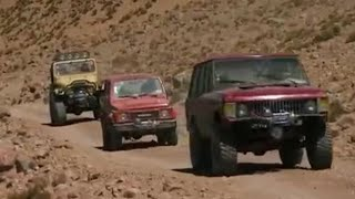 Scaling the Guallatiri volcano - Top Gear - BBC