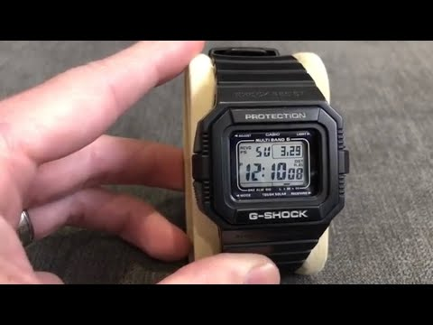 Casio G-Shock DW-5510-1JF Watch Showcase By Casio Watchers