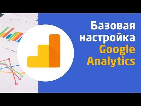 Базовая настройка Google Analytics