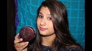 Blueheaven Silk On Face Powder With Foundation REVIEW & Demo