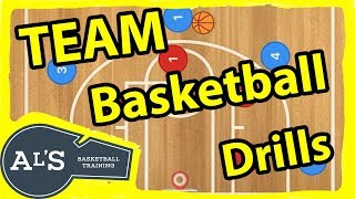 Top 5 Team Basketball Drills for Youth