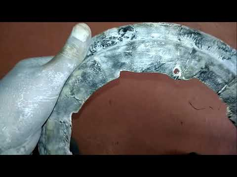 восстановление защитного кожуха тормозных дисков