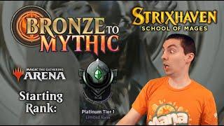 💿 MTG Arena: Bronze To Mythic (Limited: Strixhaven Draft) - Episode 19 - Starting Rank: Platinum 1