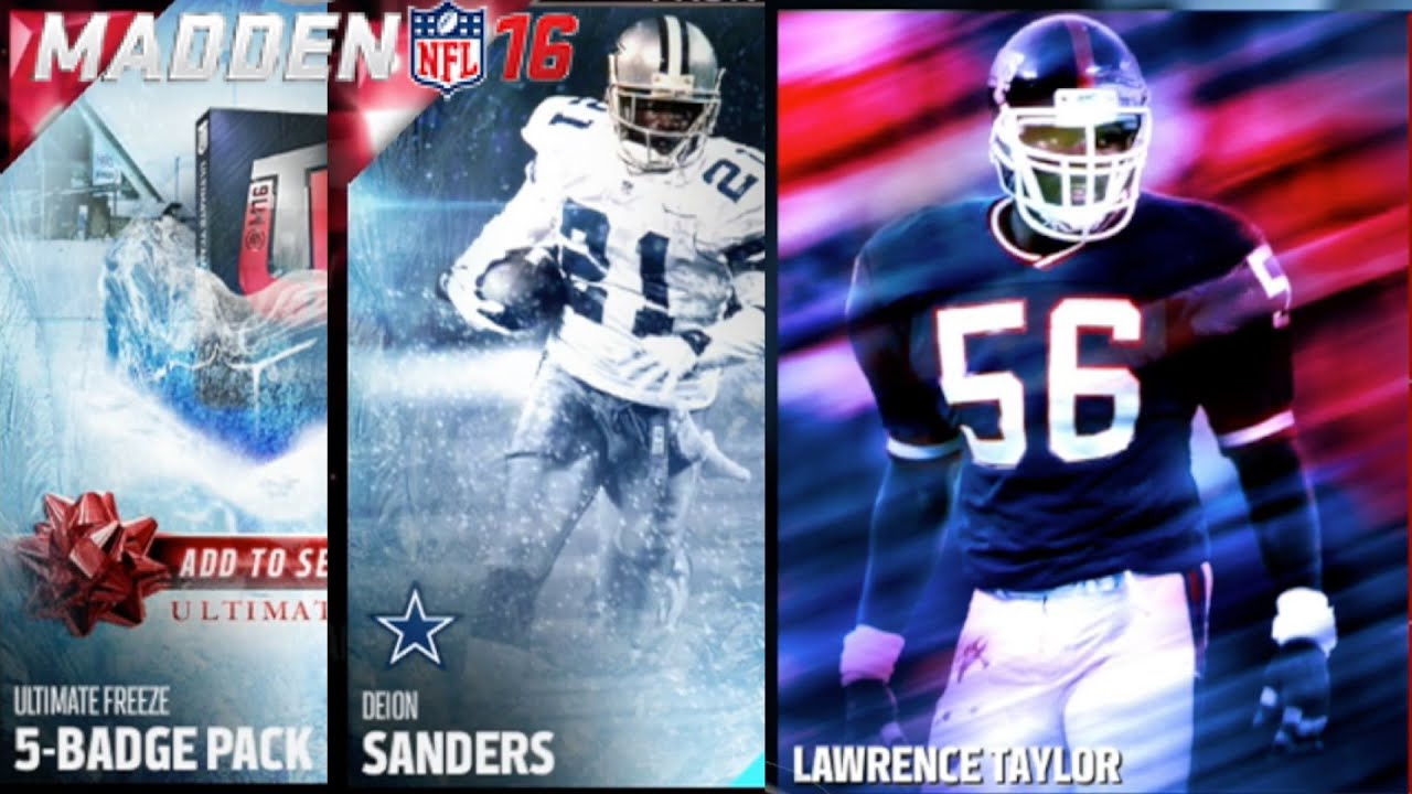 90 ovr oop deion sanders lawrence taylor solo my gift