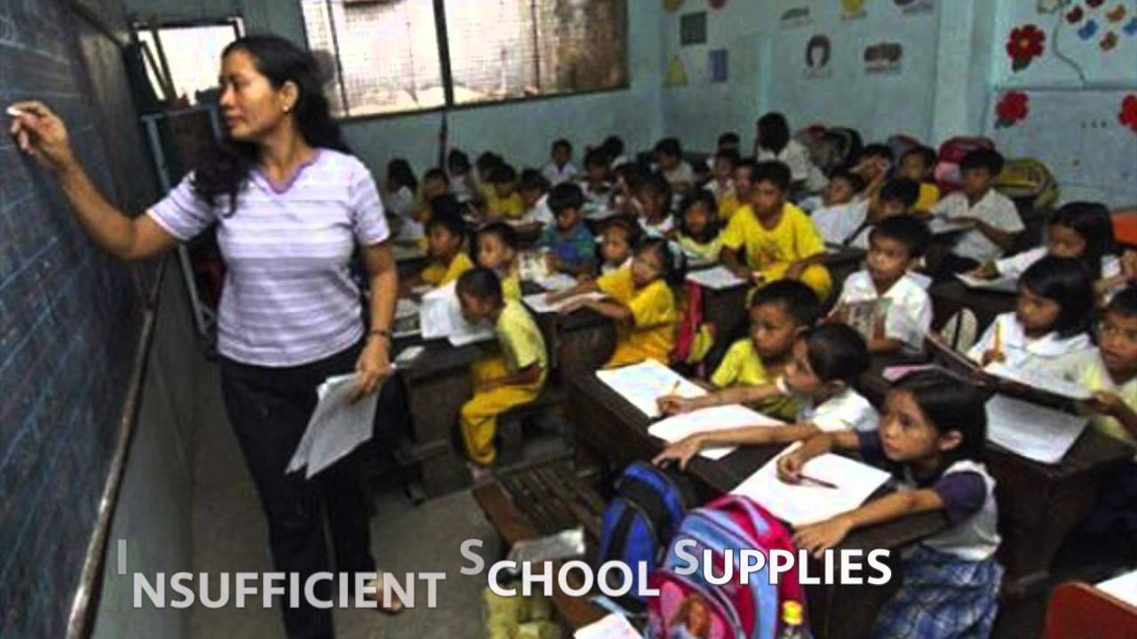 Lack of Education in the Philippines - YouTube