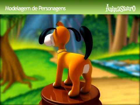 Azeitona 3D - Turma do Nosso Amiguinho