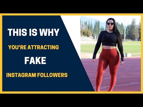 FAKE FOLLOWERS AND LIKES ON INSTAGRAM - why you're attracting ghost followers