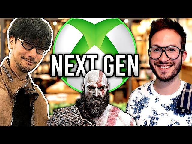 La Xbox Anaconda plus puissante que la PS5 ? Kojima tease un gros projet,  God of War 5 ?