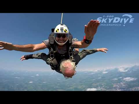 Adonis Thomas's Tandem skydive!
