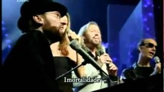 Celine Dion Bee Gees Immortality Live Legendado
