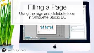Filling A Page In Silhouette Studio De