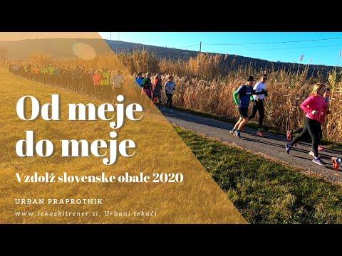 Tek vzdolž slovenske obale 2020