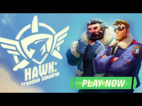 HAWK – Alien Arcade Shooter. Falcon Squad