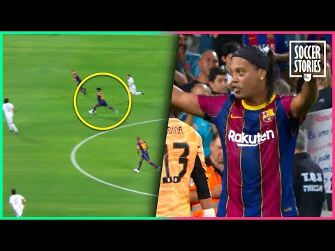Ronaldinho Proves That He's Still As Talented As Ever   Oh My Goal