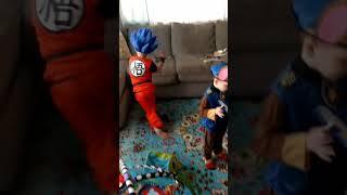 Halloween Costumes 2017 Chase and Goku