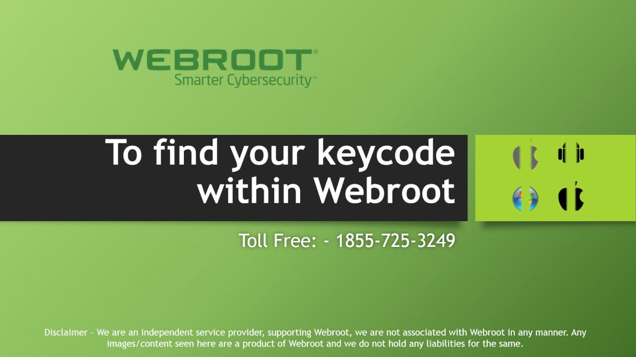 Webroot Keycode Activation