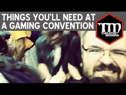 Things You'll Need at a Gaming Convention