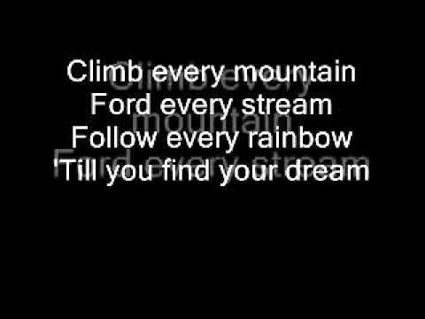 Karaoke - Climb Every Mountain (Studio Version) - Guy Sebastian