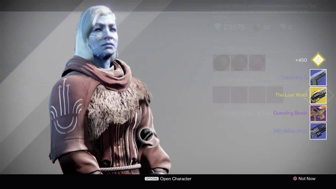 the last word destiny how to get
