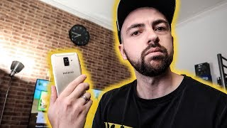 Samsung GALAXY A6 2018 Black & Gold | Unboxing | SiER