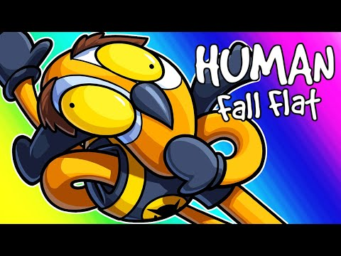 Human Fall Flat Funny Moments – Stuck in Airport Toilet Paper