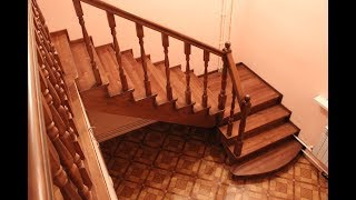 видео урок как сделать лестницу