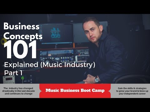 Business 101 Concepts Explained (Music Industry) Part 1