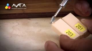 4. Ремонт скола на столешнице с материалами Konig (4 из 6)