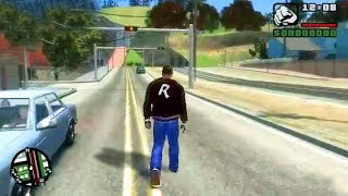 GTA San Andreas - Map on [Grand Theft Auto IV Engine] - GTA IV Mods Gameplay
