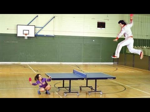 The Funniest Moments Of Table Tennis 2015-2017