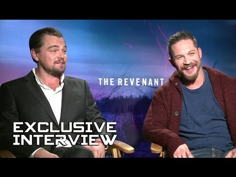 Leonardo DiCaprio and Tom Hardy Exclusive Interview - THE REVENANT (2015)