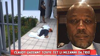 Mèt Claudy Gassan Touye Tèt Li Pase On Kouto Anba Kou'l, Ansyen Komisè Gouvènman X DG ULCC