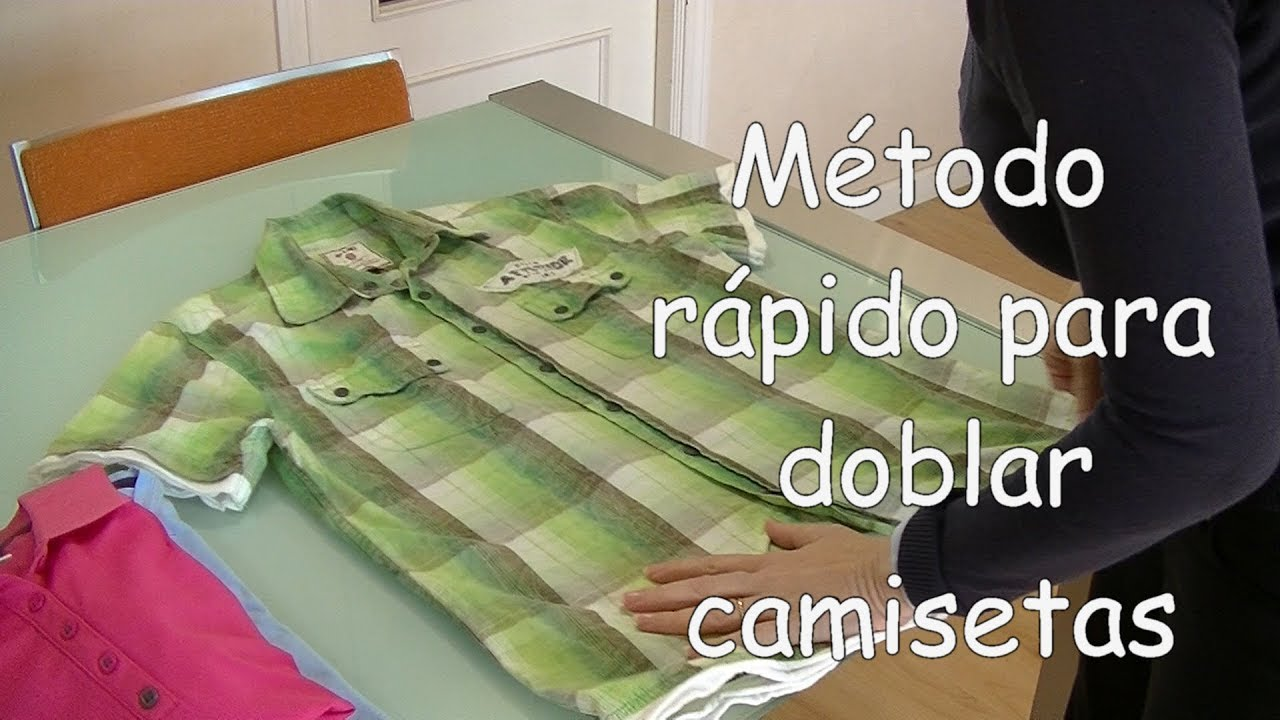 Doblar camisetas estilo japones simple fold long sleeved - Tabla doblar camisetas ...