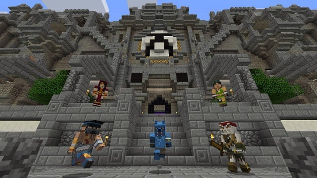 Minecraft Xbox One (+Xbox 360) SKIN PACK 6 INFO - YouTube Xbox One Skins Minecraft
