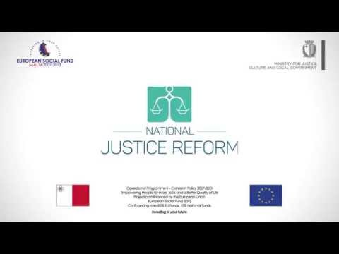 MALTA National Justice Reform - Radio Advert-ENG - 2015
