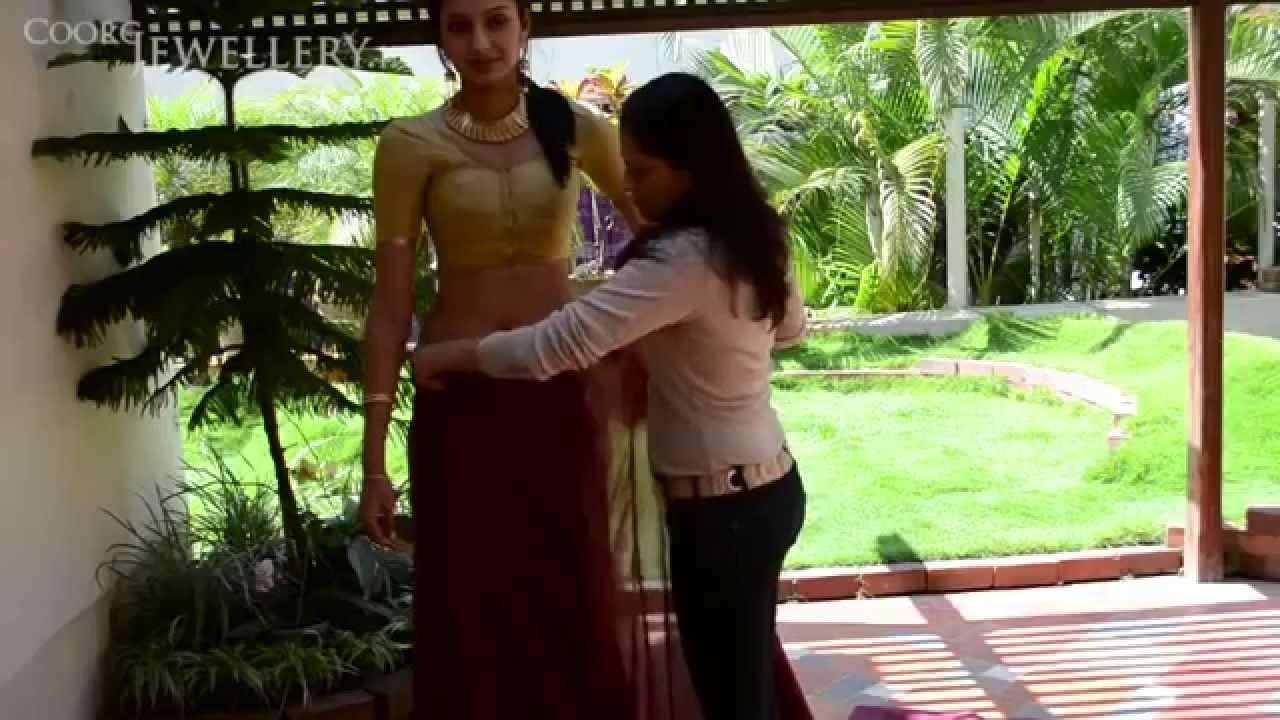 Coorg Sari Video Www Coorgjewellery In Youtube